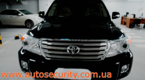 Авторская защита от угона Toyota Land Cruiser LC200 в Киеве